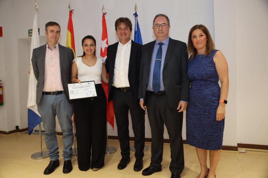 Equipo Repapubli con alcalde y concejales de Fuenlabrada