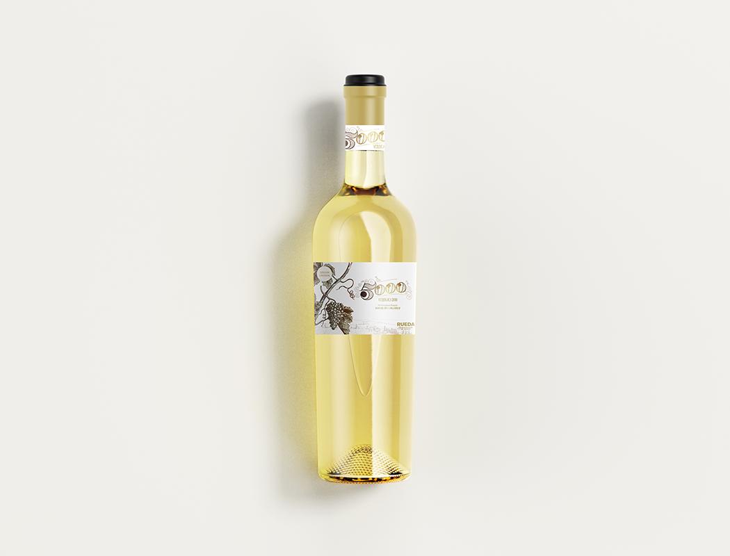 botella Verdejo 5000