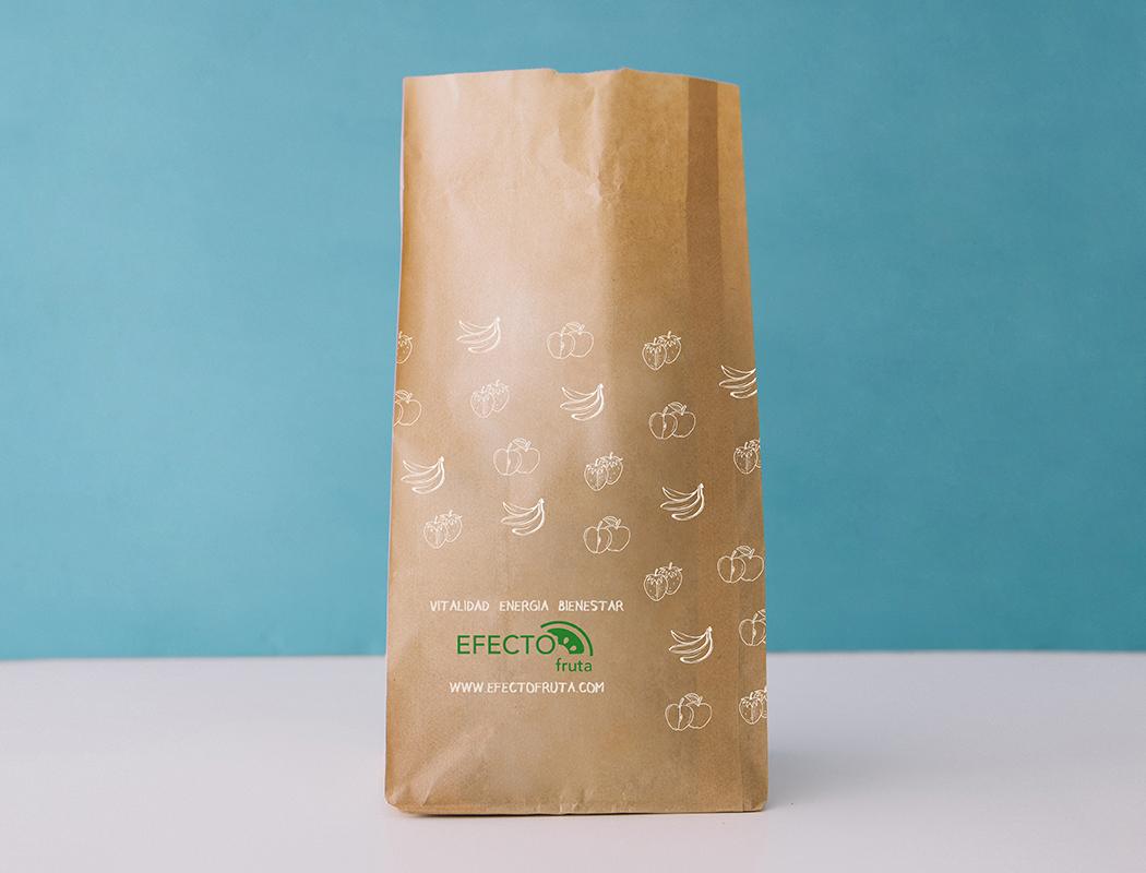 Diseño bolsa Efecto Fruta